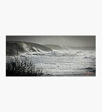 Another Storm coming to Cornwall Photographic Print