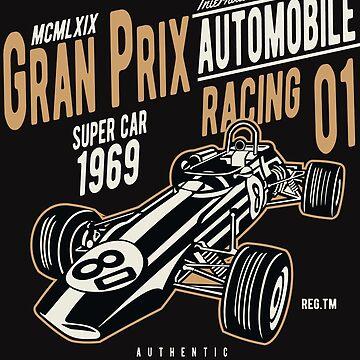 Formula 1 T-Shirt by webeller