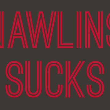 Nawlins Sucks - Pewter/Red (Tampa Bay) by caknuck