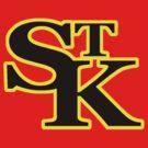 St Kilda Baseball Club Logo T-shirt red by St Kilda Baseball Club