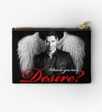 Lucifer Morningstar - What do you truly desire? Studio Pouch