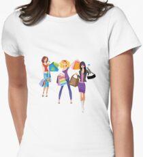 Fashion girls Women's Fitted T-Shirt