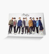 stray kids kpop Greeting Card