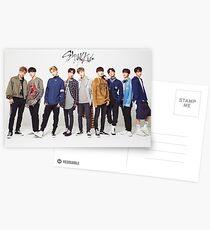 stray kids kpop Postcards