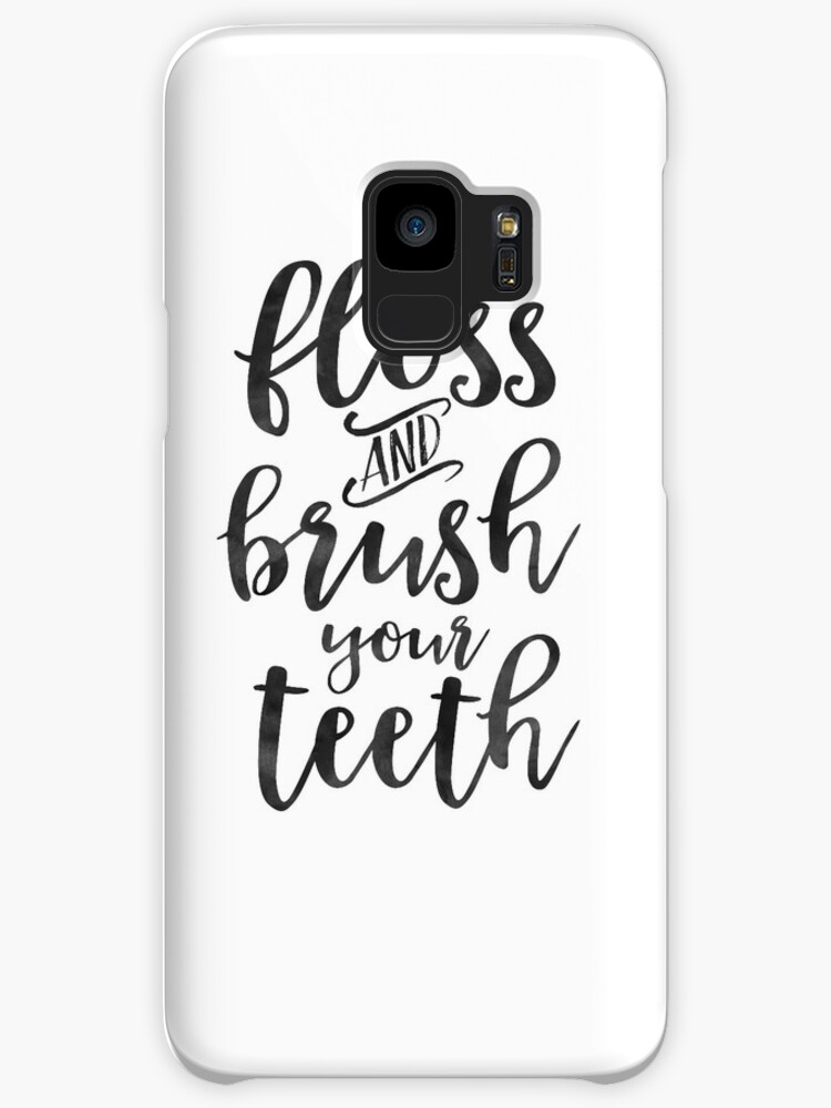 Bathroom Wall Decor Floss And Brush Your Teethbathroom Decor