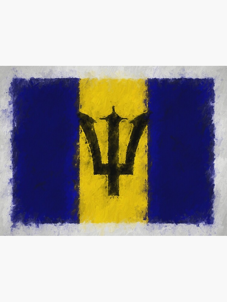 Barbadian Flag No. 66, Series 4 by 8th-and-f