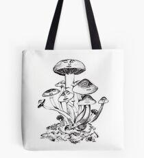 Mushroom Troop Tote Bag