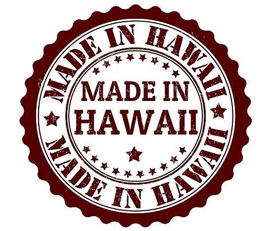 Hawaii Stamp Photographic Prints By Click Action