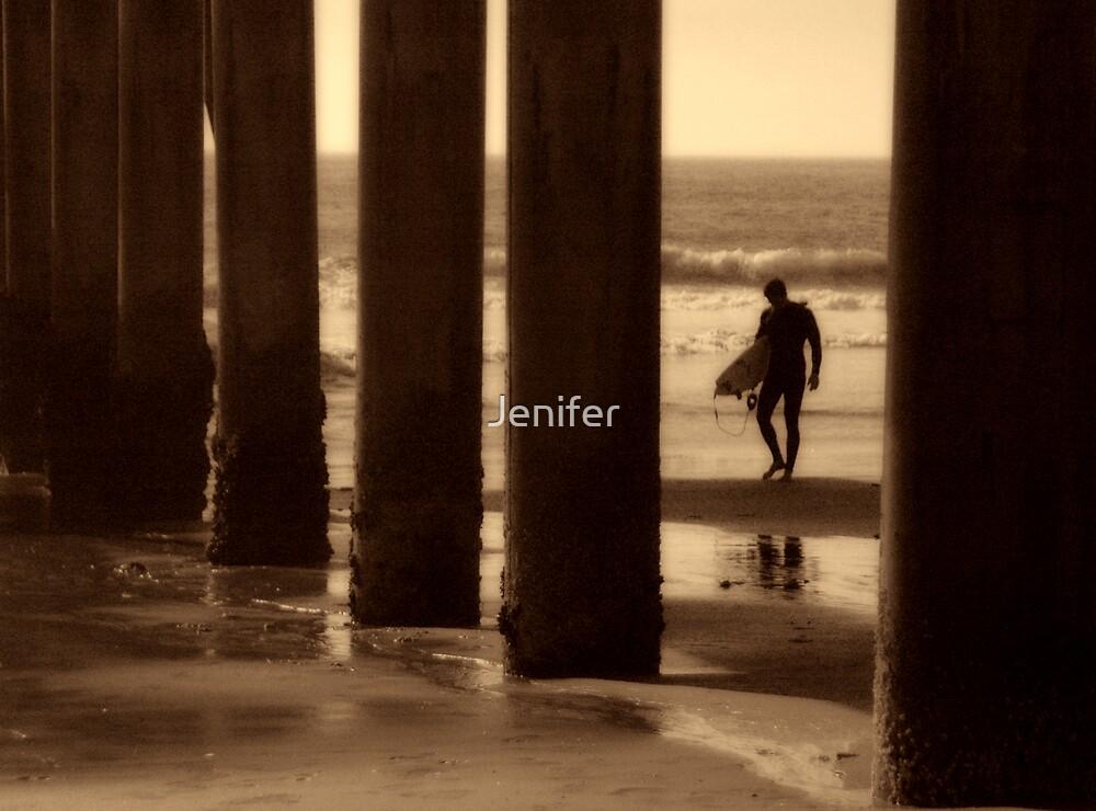 Under The Pier by Jenifer