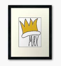 Max WTWTA Framed Print