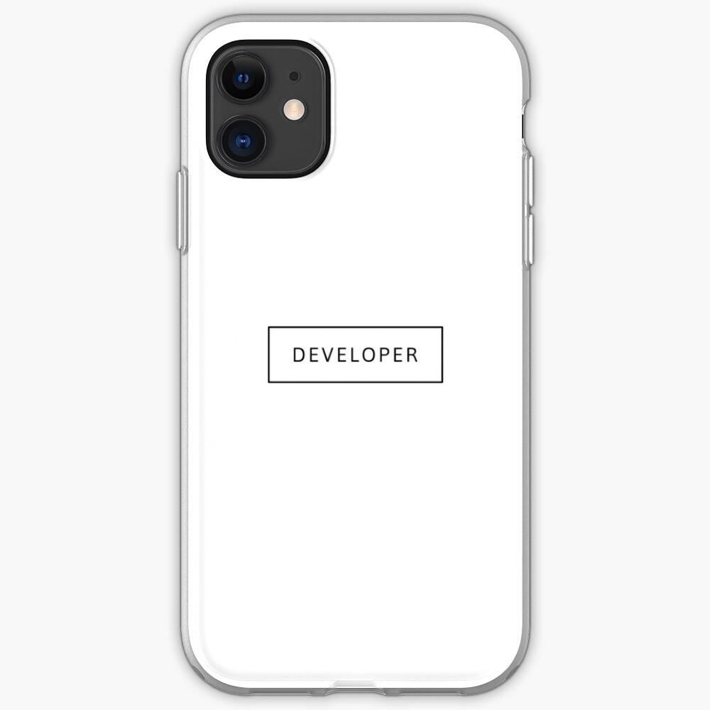 Developer (Inverted) iPhone Case & Cover
