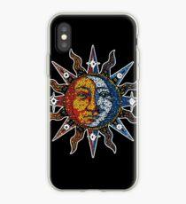 Celestial Mosaic Sun/Moon iPhone-Hülle & Cover