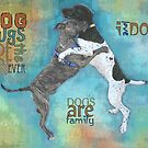 DOG HUGS by Betsy  Seeton