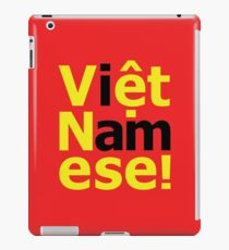 i am Việt Namese! iPad Case/Skin