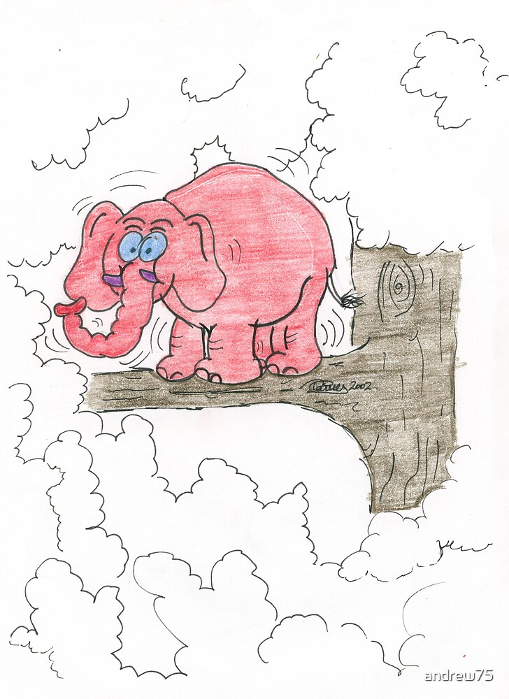 Elephant with Vertigo by andrew75