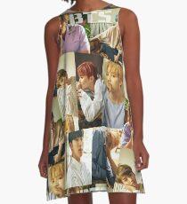 bts liebe dich selbst 2 A-Linien Kleid