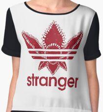 Stranger Things - Adidas logo Women's Chiffon Top