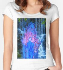 Waterfall Magic Women's Fitted Scoop T-Shirt