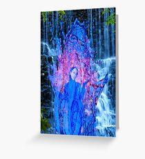 Waterfall Magic Greeting Card
