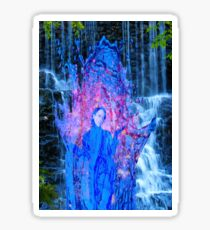 Waterfall Magic Sticker