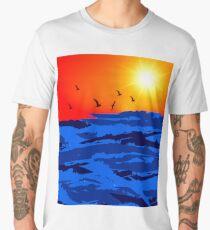 sun set A Men's Premium T-Shirt