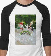 Christmas ornaments Men's Baseball ¾ T-Shirt