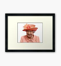 Queen Lizzy Framed Print