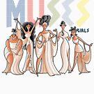 Muses girls by trheewood