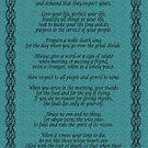 """""""Lebe dein Leben"""" von Chief Tecumseh Turquoise von Irisangel"""