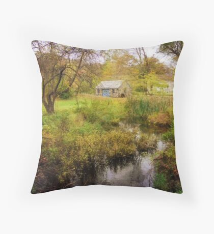 Blacksmith's Shop II Throw Pillow