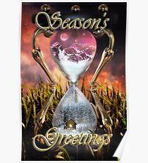 Avalanche Season's Greetings / Christmas Card Poster