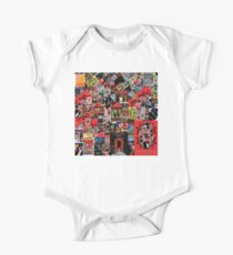 Rock and roll posters collage One Piece - Short Sleeve