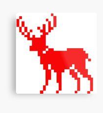 Nordic Deer Metal Print