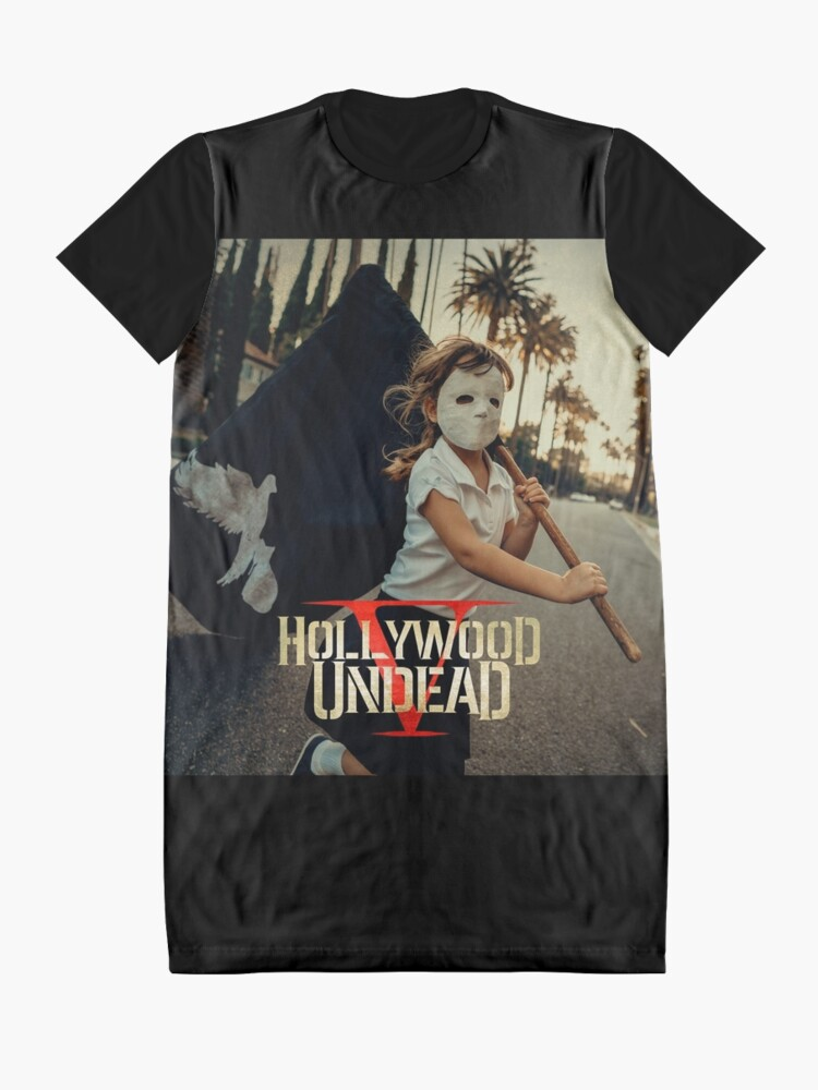 Alternative Ansicht von Hollywood Untoten fünf Tour 2018 Pahoman T-Shirt Kleid