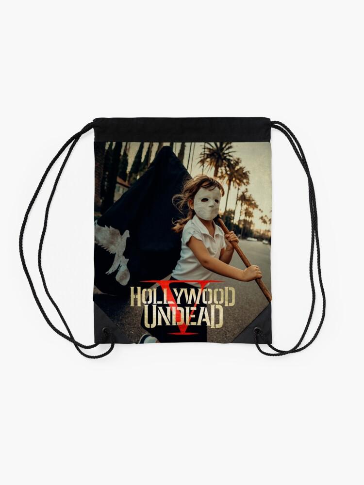 Alternative Ansicht von Hollywood Untoten fünf Tour 2018 Pahoman Turnbeutel