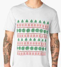 Geeky Christmas Sweater Men's Premium T-Shirt