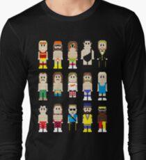 8-Bit Wrestlers! Long Sleeve T-Shirt