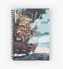 Howl's moving castle Spiral Notebook