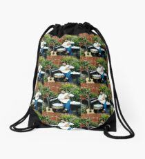 Tony DuPuis Louisiana Promo Patio Scene Drawstring Bag