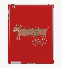 Cute Funny Christmas Dog iPad Case/Skin
