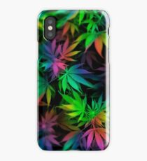 WEED COLORS iPhone Case/Skin