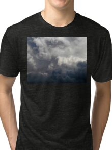 Clouds 2 Tri-blend T-Shirt
