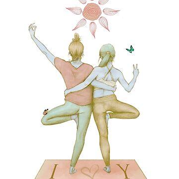 Yogi love soft pink by raquelcasilda