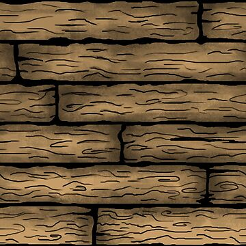 Wooden Plank Pattern by Podfish
