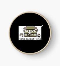 Retro Pokemon Home Sweet Home Clock