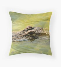 gator Throw Pillow