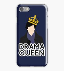 Sherlock - Drama Queen iPhone Case/Skin