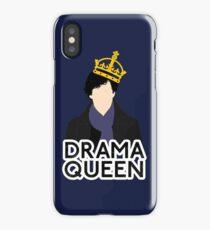 Sherlock - Drama Queen iPhone Case