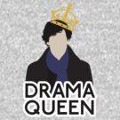 Sherlock - Drama Queen by Kallian