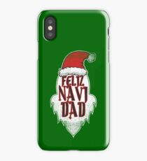 Feliz Navi Dad Christmas Humour Funny Pun Gift iPhone Case/Skin
